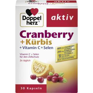 Doppelherz aktiv Cranberry + Kürbis 16.21 EUR/100 g