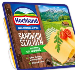 HOCHLAND Sandwich Käsescheiben