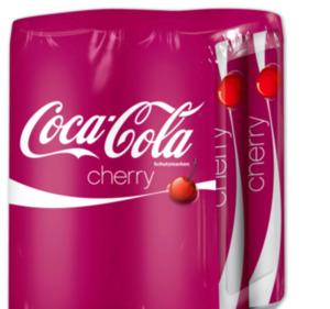COCA-COLA Cherry, Vanilla oder MEZZO MIX Orange
