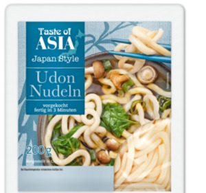 TASTE OF ASIA Udon Nudeln
