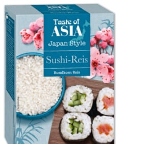 TASTE OF ASIA Sushi-Reis