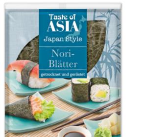TASTE OF ASIA Nori-Blätter