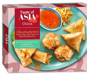 TASTE OF ASIA Gemüseteigtaschen-Mix