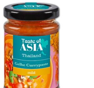 TASTE OF ASIA Currypaste