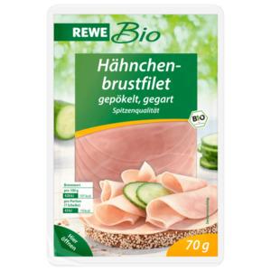 REWE Bio Hähnchenbrustfilet 70g
