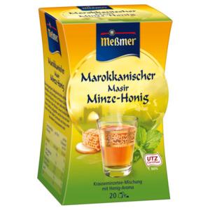 Meßmer Marokkanischer Masir Minze-Honig 40g, 20 Beutel