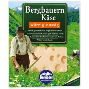Bergader Bergbauern Käse würzig-nussig 160g