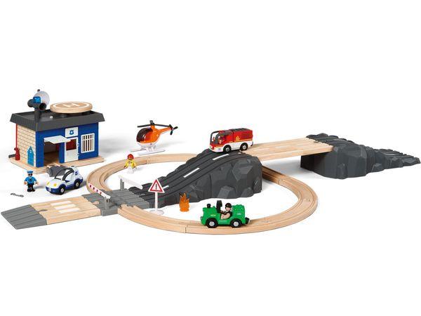 PLAYTIVE® JUNIOR Schienen- und Straßenset