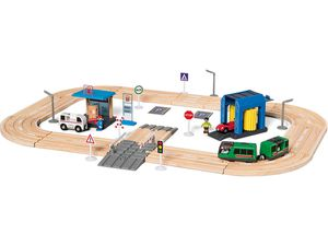 PLAYTIVE® JUNIOR Holz-Autobahn