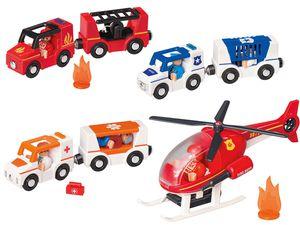 PLAYTIVE® JUNIOR Einsatzwagen/Hubschrauber