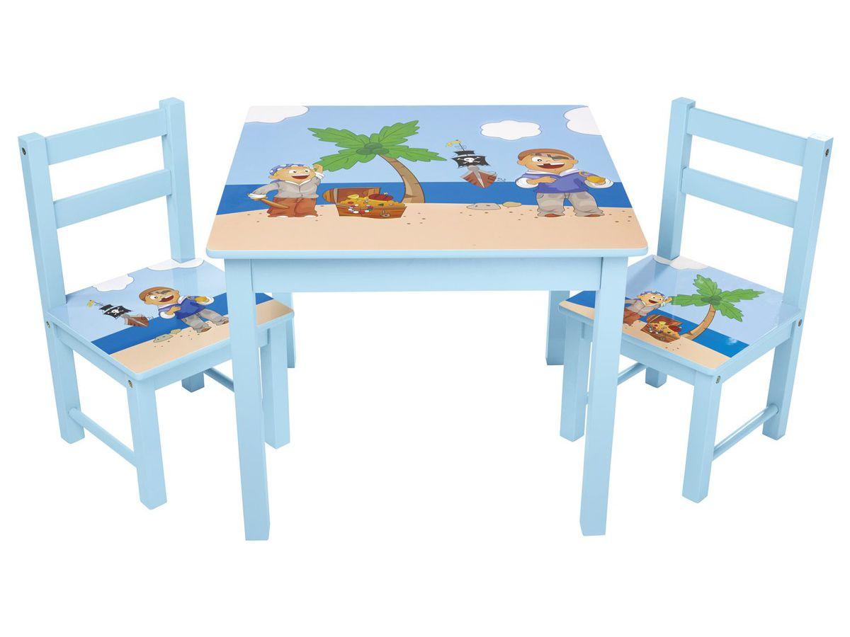LIVARNO LIVING Kinder Tisch Mit Zwei Stühlen Von Lidl