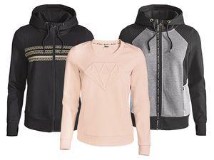 CRIVIT® Damen Sweatjacke/-pullover