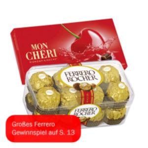 Ferrero Rocher, Küsschen oder Mon Cheri