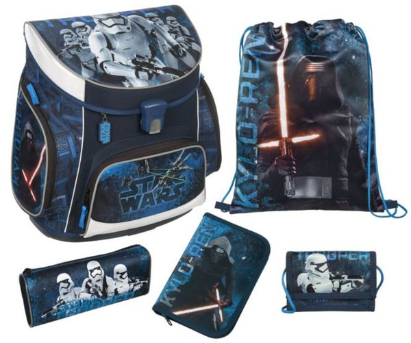 Scooli Schulranzen Set - Star Wars - Campus Up - 5 Teile
