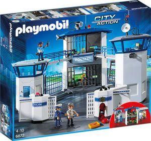 PLAYMOBIL® 6872 - Polizei-Kommandozentrale mit Gefängnis - Playmobil City Action
