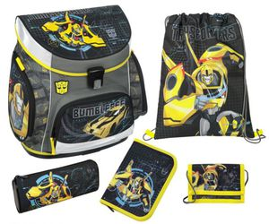 Scooli Schulranzen Set - Transformers - Campus Up - 5 Teile