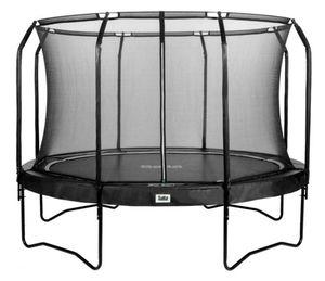 Salta Trampolin - Combo Set Premium Black Edition - ca. 366 cm