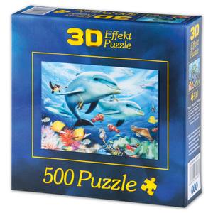 3D-Effekt-Puzzle