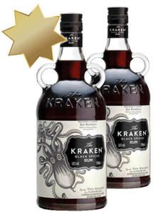 The Kraken Black Spiced Rum 40%