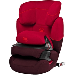 Cybex - Kindersitz Aura-Fix, Rumba Red