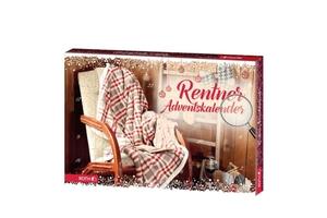 Roth Rentner-Adventskalender zum Frühstück, 24 Frühstücks-/ Genussartikel