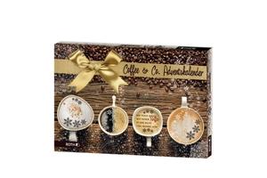 Roth Kaffee-Adventskalender Coffee&Co. 24 x Kaffeegenuss und -Zubehör