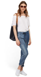 Tom Tailor Tabea Slim Jeans, blue denim light wash, 31/32