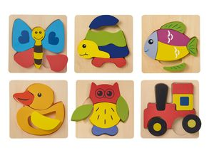 PLAYTIVE® JUNIOR Holz-Puzzle