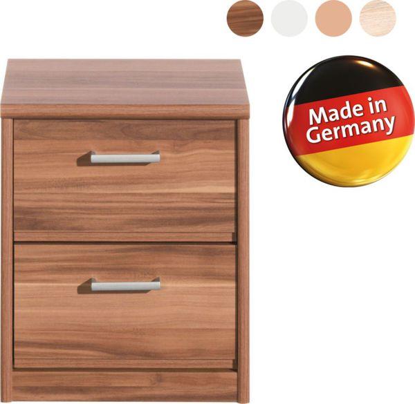 Cs Schmal Nachtkommode Soft Plus Typ 40 Nussbaum Von Netto Marken