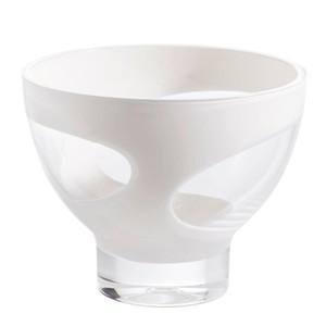 HOMEWARE SALATSCHÜSSEL Kunststoff, Weiß