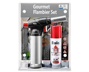 Gourmet-Flambier-Set
