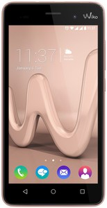 Wiko Lenny 3 Smartphone rose gold