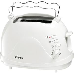 Toaster Bomann Weiß 700 Watt