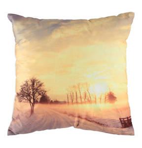"GALERIA home             LED-Kissen ""Sonnenuntergang"", gefüllt, 45 x 45 cm"