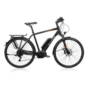 RIVERSIDE E-Bike 28 Riverside 700 Sport Herren Performance CX 500Wh anthrazit/orange, Größe: 45 CM