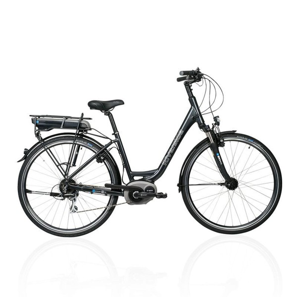 RIVERSIDE E-Bike 28 Riverside City Acera 8 Active Line 300Wh, Größe: 55 CM