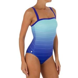 Badeanzug Cori Bluesk mit integriertem Stütztop Damen TRIBORD