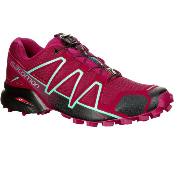Laufschuhe Trail Speedcross 4 Damen violett SALOMON PZBzq