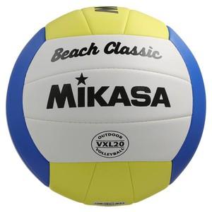 MIKASA Beachvolleyball Beach Classic gelb/weiß, Größe: Einheitsgröße