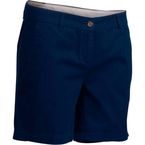 Bermuda 500 Golf Shorts Damen marineblau INESIS