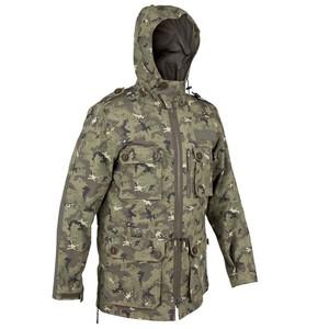 Jagdjacke Steppe 900 Camouflage Island SOLOGNAC