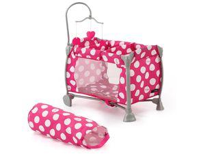 Hauck TOYS FOR KIDS Reisebett Icoo Starlight Pink