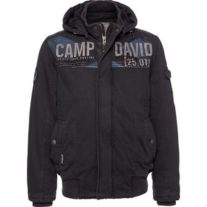 Camp David Herren Jacke mit Kapuze