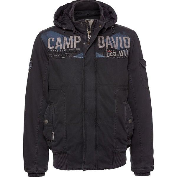 Camp David Herren Jacke mit Kapuze von