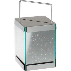 Sompex Laterne mit LED-Lichterkette, 30 cm