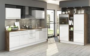 HARDi - Marken-Einbauküche Eco in weiß