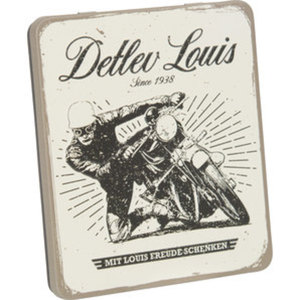 Louis Metall-Geschenkbox für Gutscheine