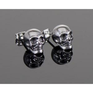 """Ohrstecker/ Ohringe """"Skull""""        Chirurgenstahl, Paar, Größe: 10x10mm"""