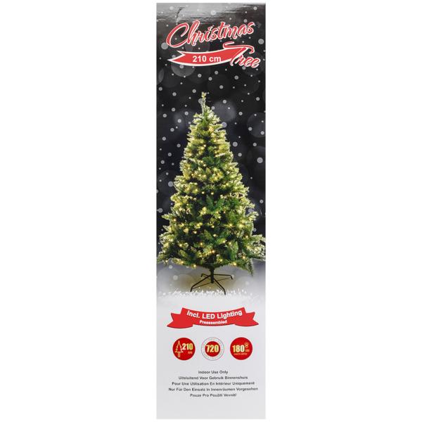 Künstlicher Weihnachtsbaum Mit Beleuchtung.Weihnachtsbaum Mit Led Beleuchtung