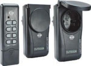 Funksteckdosen-Set für innen oder außen